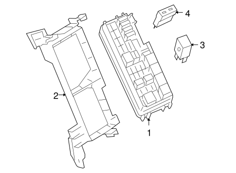FUEL SYSTEM COMPONENTS for 2006 Mercedes-Benz ML350