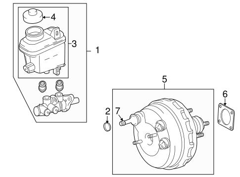 Genuine OEM HYDRAULIC SYSTEM Parts for 2010 Toyota Tundra