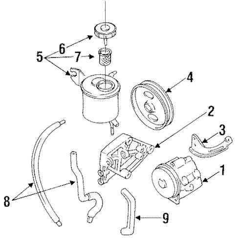 92 Volvo 240 Engine Diagram 92 Ford Aerostar Engine