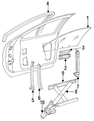 Genuine GM REGULATOR ROLLER (9666748)