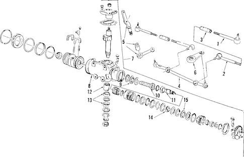 STEERING GEAR & LINKAGE for 1985 Chevrolet Monte Carlo (SS)