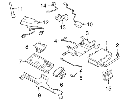 COMMUNICATION SYSTEM COMPONENTS for 2002 Chevrolet