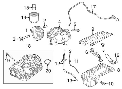 ENGINE PARTS for 2014 Chrysler 300