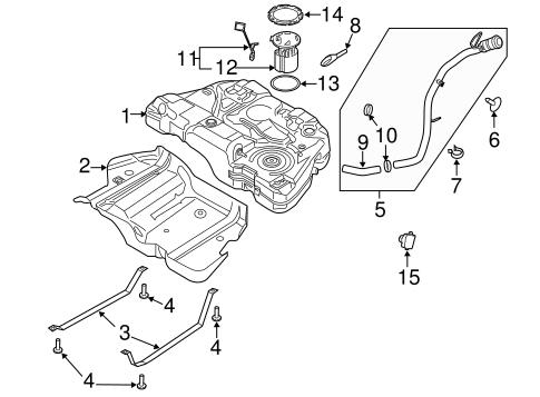 8U5Z-17B068-B FILLER TUBE for 2015 Ford Fusion