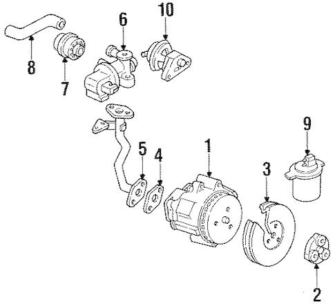 01 Chevy 8 1 Egr Location Chevy Engine Code Location