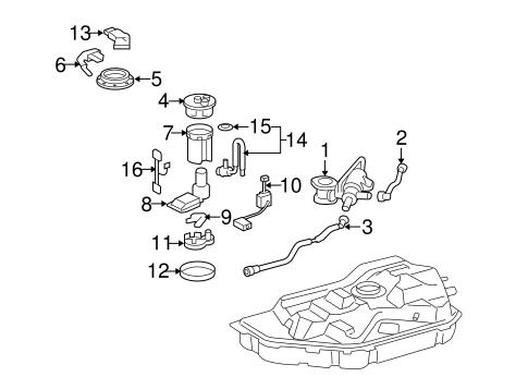 Genuine OEM SENDERS Parts for 2006 Toyota Highlander