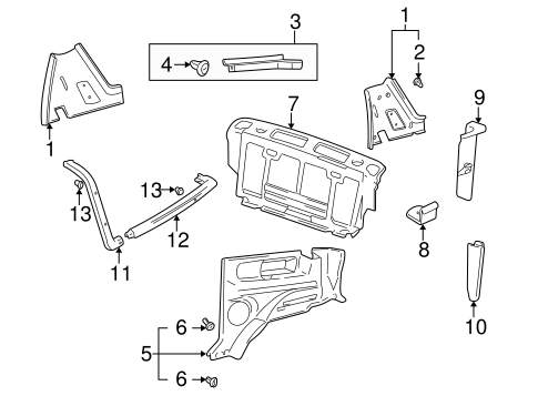Gm Body Panels GM 57 Chevy Truck Panels Wiring Diagram