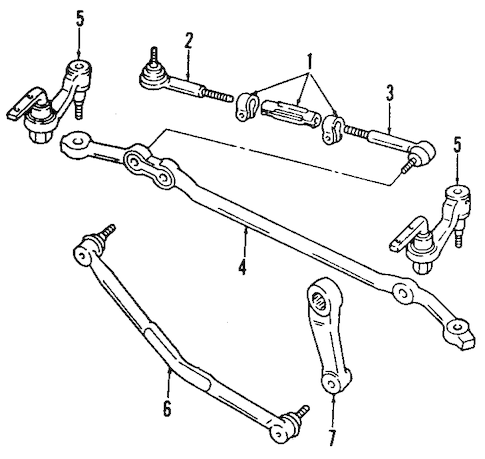 STEERING GEAR & LINKAGE for 2001 Chevrolet Astro