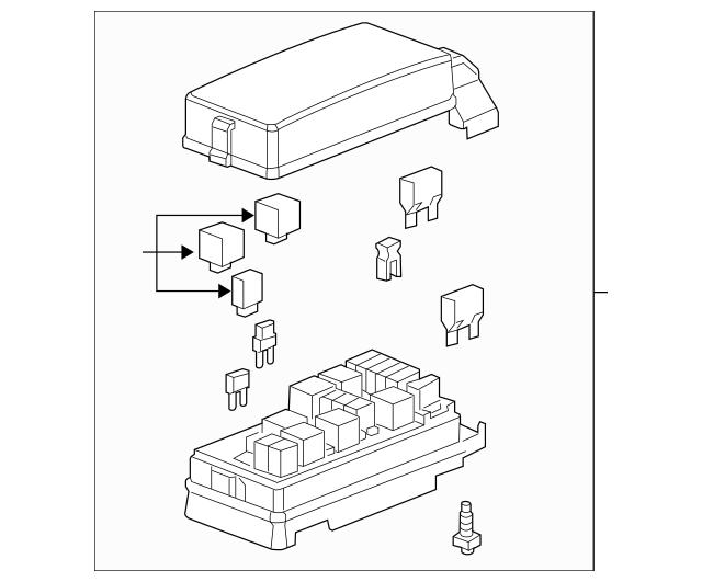 Hidden Fuse Box