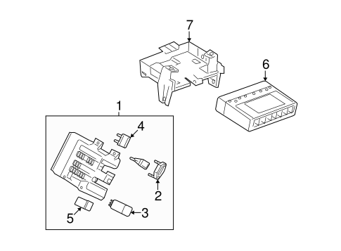 OEM ELECTRICAL COMPONENTS for 2008 Saturn Vue