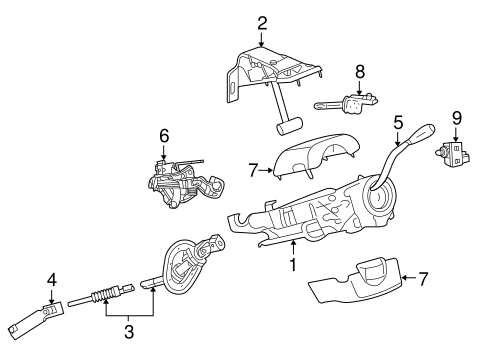 SWITCHES for 2013 Ram 2500