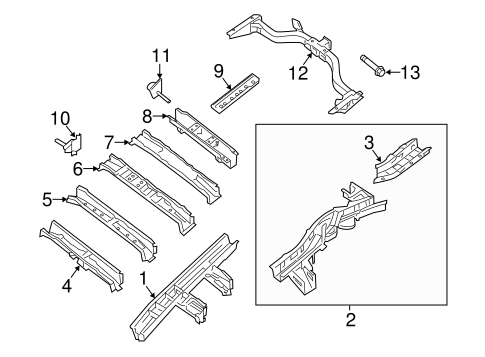 TRAILER HITCH COMPONENTS for 2013 Nissan Pathfinder