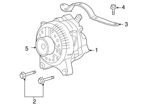 ALTERNATOR for 2009 Ford F-150