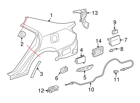 Toyota Sienna Door Panel Toyota Camry Door Wiring Diagram