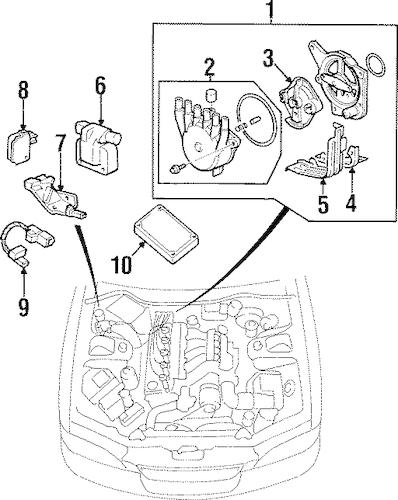 91 Acura Legend Engine Diagram