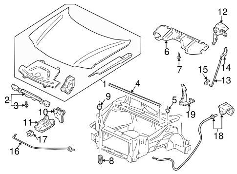 1997-2005 Chevy Venture Pontiac Montana Oldsmobile Hood