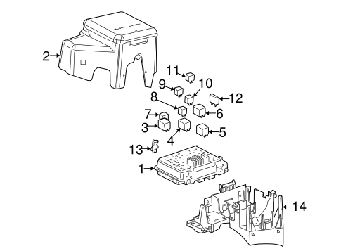 FUEL SYSTEM COMPONENTS for 2002 Chevrolet Suburban 1500