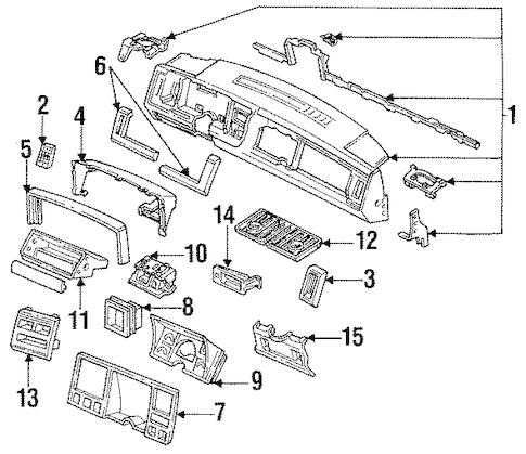CONTROLS for 1992 Chevrolet Suburban K1500