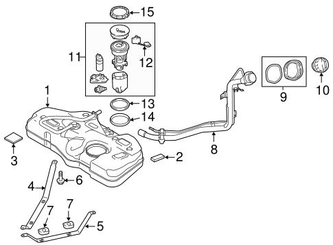 Genuine OEM Mazda Fuel System Parts