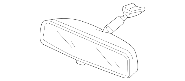 Remove internal rear view mirror on 2012 TL
