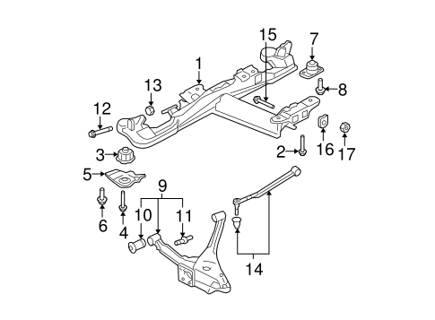 REAR SUSPENSION for 2008 Cadillac DTS (L)