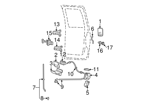 DOOR for 1999 Ford F-250 Super Duty