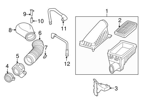 2000 Chevy Blazer Engine Air Intake, 2000, Free Engine