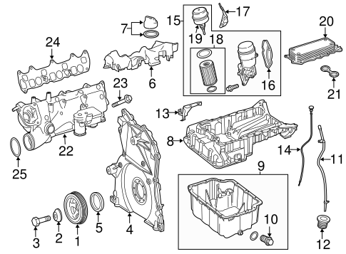 ENGINE PARTS for 2015 Mercedes-Benz Sprinter 3500