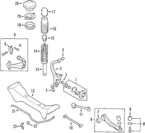 2005 Hyundai Sonata Suspension Diagram, 2005, Free Engine