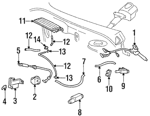 SWITCHES for 1995 Buick Riviera (Base)