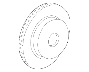 Genuine OEM Honda Front Brake Rotors