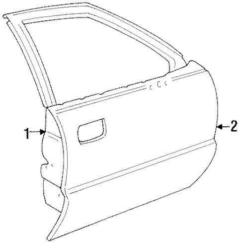 Pontiac G6 Door Diagram, Pontiac, Free Engine Image For