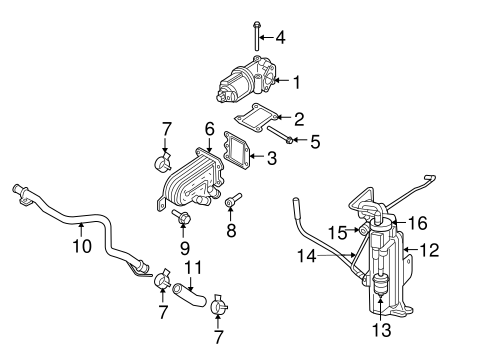 EMISSION COMPONENTS for 2006 Jeep Liberty