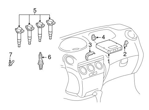 2006 Scion Xb Belt Diagram, 2006, Free Engine Image For