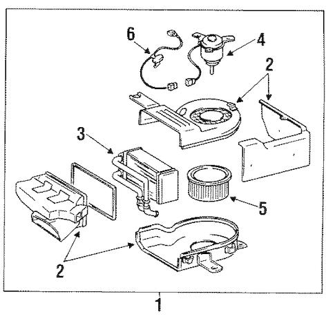 Service manual [1994 Toyota Land Cruiser Heater Core