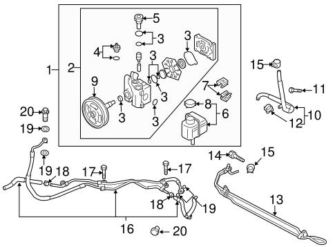 2006-2014 Mazda3/Speed6/Miata/CX-7 Power Steering Fluid