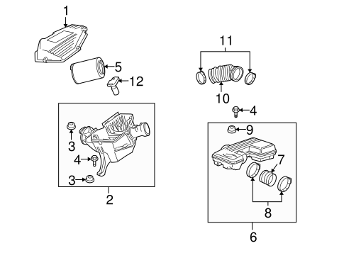 POWERTRAIN CONTROL Parts for 2006 Hummer H3
