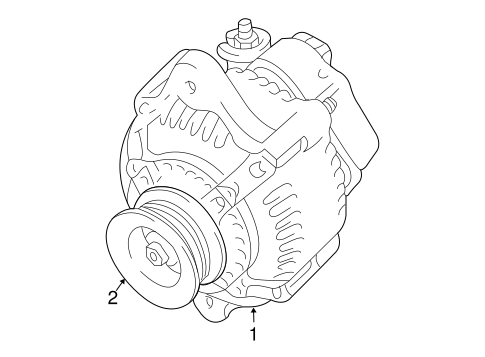 Genuine OEM ALTERNATOR Parts for 2010 Toyota 4Runner