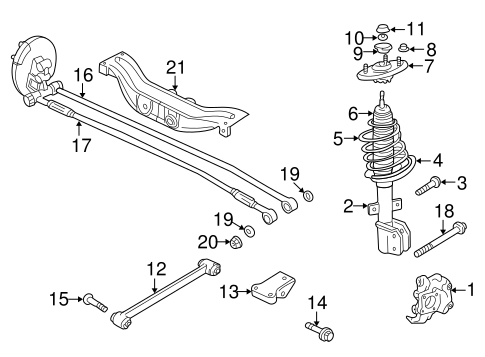 Saab 9 3 Rear Suspension Diagram, Saab, Free Engine Image