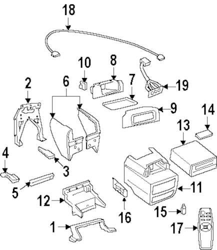 Service manual [1992 Oldsmobile Silhouette Center Concole
