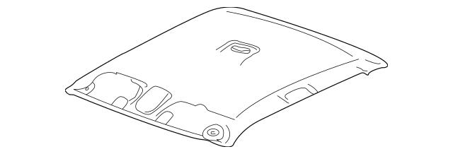HEADLINER for 2004 Chevrolet Silverado 1500|15915030
