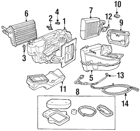 Service manual [Heater Coil 1998 Plymouth Neon How To