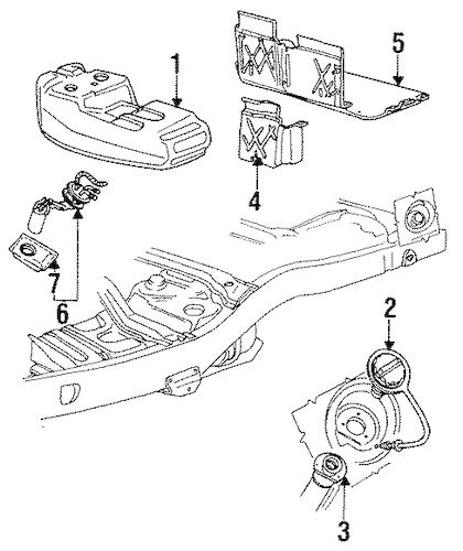 1992 Ford explorer fuel pump