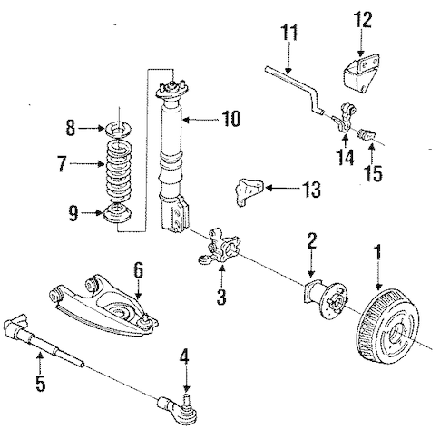 Service manual [Brake Change On A 1994 Buick Park Avenue