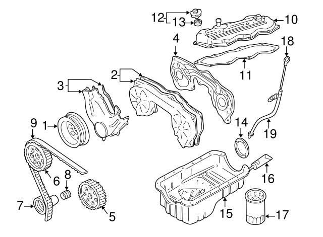 2000 Nissan Frontier Factory Parts Diagram