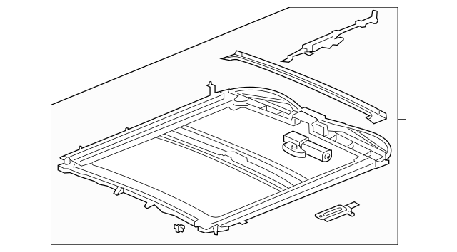 OEM SUNROOF ASSY (19120488) for your GM Vehicle