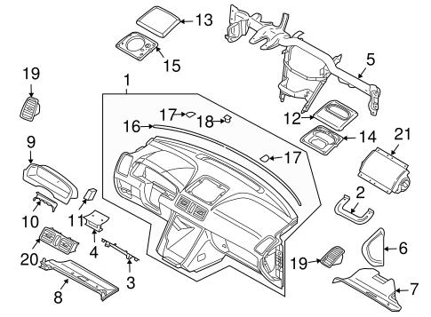 Buick Lesabre Instrument Panel Jeep Liberty Instrument