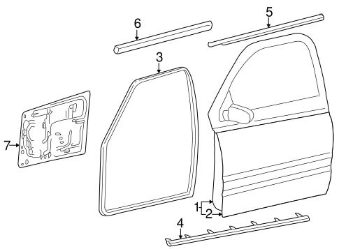 Dodge Dakota Door Shell Dodge Dakota Door Glass Wiring