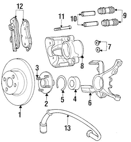 ANTI-LOCK BRAKES for 1998 Dodge Neon