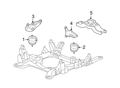 Service manual [2006 Cadillac Sts Engine Motor Mount
